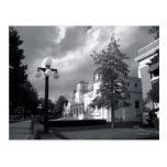 Bath House Row Storm Post Card