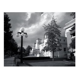 Bath House Row Storm Postcard