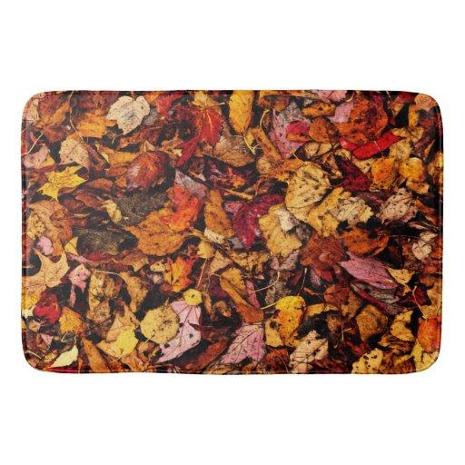 Bath Mat Carpet Of Autumn Leaves Quot Zazzle