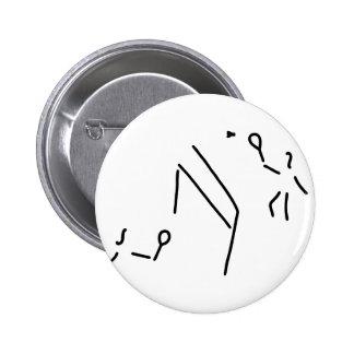 bath min tone federball player pinback button