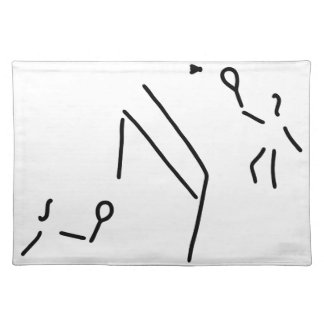bath min tone federball player placemat