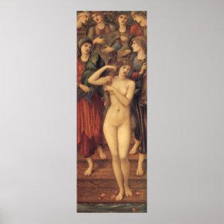 Bath of Venus Burne Jones Vintage Victorian Art Print