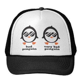 bath penguin - penguin trucker hat