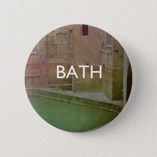 Bath Pinback Button