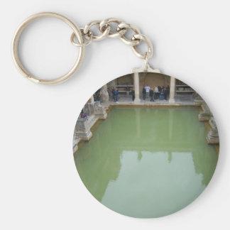 bath roman baths keychain