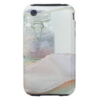 Bath salts and eye mask iPhone 3 tough cases