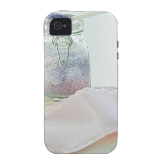 Bath salts and eye mask iPhone 4/4S case