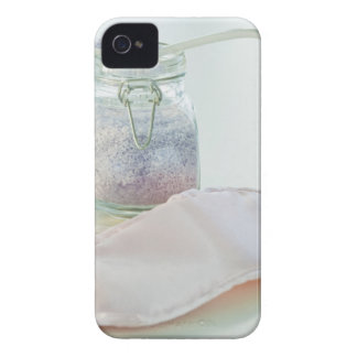 Bath salts and eye mask iPhone 4 case