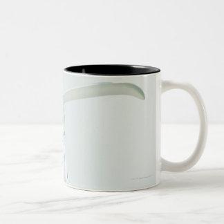 Bath salts and eye mask Two-Tone coffee mug