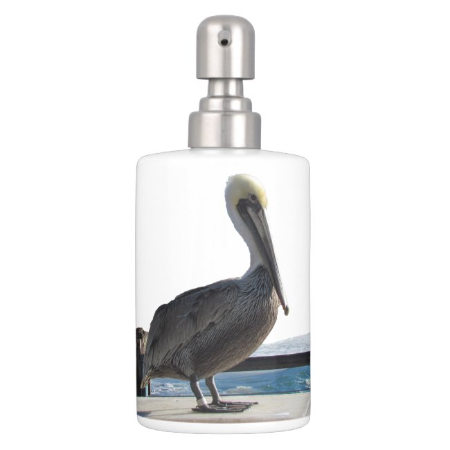 Bath Set - Standing Pelican