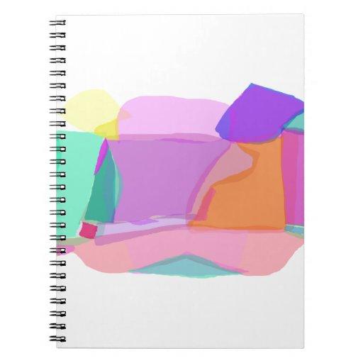 Bath Spiral Note Book