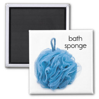 Bath Sponge Refrigerator Magnet