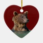 bath time bear christmas tree ornaments