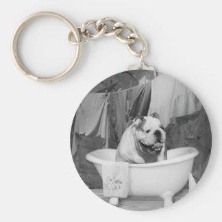 Bath time big fellow keychain