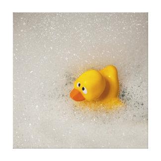 Bath Time! Canvas Print
