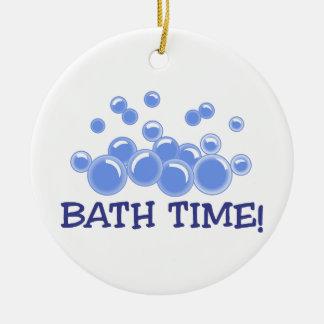 Bath Time Ceramic Ornament