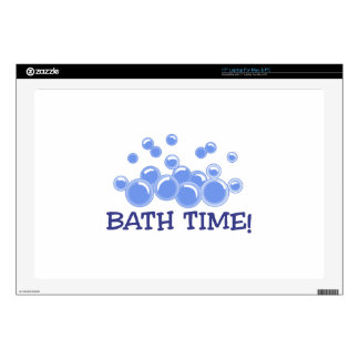 Bath Time Decal For Laptop
