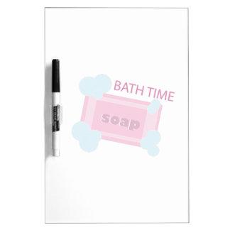 Bath Time Dry-Erase Whiteboards