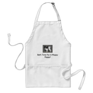Bath Time For A Happy Pappy! Adult Apron