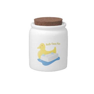 Bath Time Fun Candy Jar