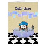 bath time fun cards