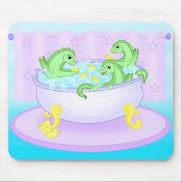 Bath time mouse pad
