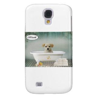 Bath time puppy galaxy s4 case