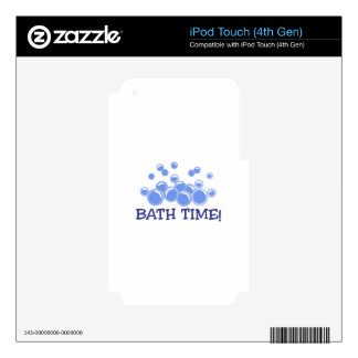 Bath Time Skin For iPod Touch 4G