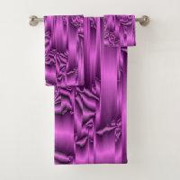 Bath Towel Set,holiday, home, colorful,purple