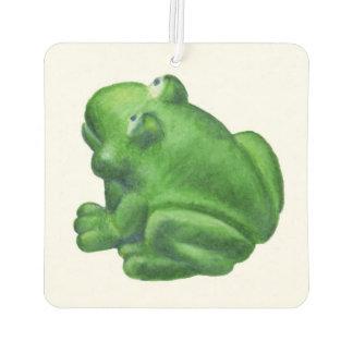 Bath toy frog car air freshener