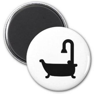 Bath tub shower magnet