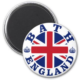 Bath Vintage UK Design 2 Inch Round Magnet