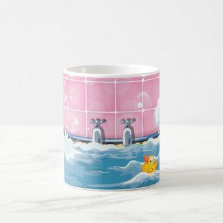 Bath Yellow Duck 11 Oz Magic Heat Color-Changing Coffee Mug