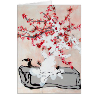 Bathed in Cherry Blossoms Card