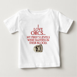 Bathed In Orc Blood Baby T-Shirt