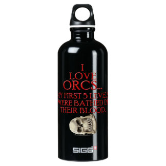 Bathed In Orc Blood Water Bottle