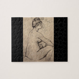 Bather Drying Herself_Studies of the Masters Jigsaw Puzzle