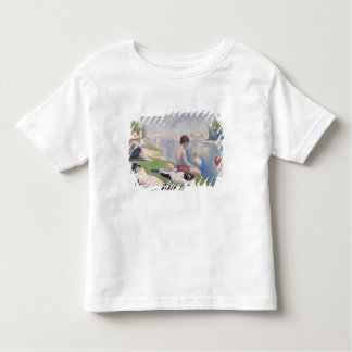 Bathers at Asnières, 1884 (oil on canvas) Toddler T-shirt