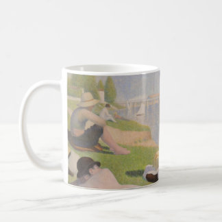 Bathers at Asnieres by Georges Seurat Coffee Mug