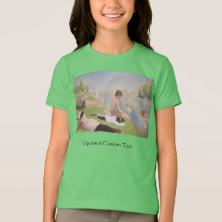 Bathers at Asnieres by Georges Seurat T-Shirt