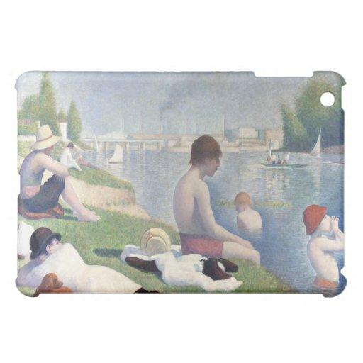 Bathers at Asnieres, Georges Seurat iPad Mini Cover