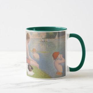 Bathers at Asnieres Mug