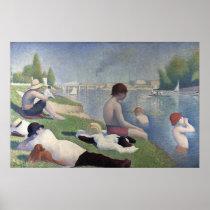 Georges Seurat's Bathers at Asnières