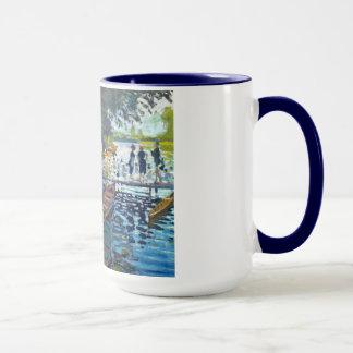 Bathers at La Grenouillere Claude Monet Mug