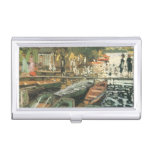 Bathers By Monet Business Card Holders
