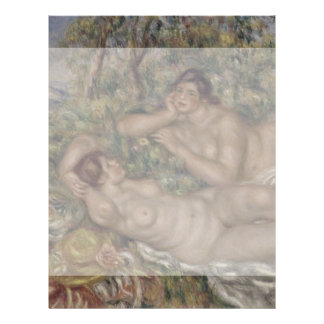 Bathers by Pierre-Auguste Renoir Flyer