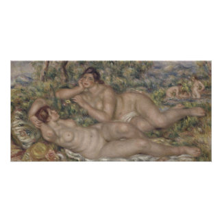 Bathers by Pierre-Auguste Renoir Photo Cards