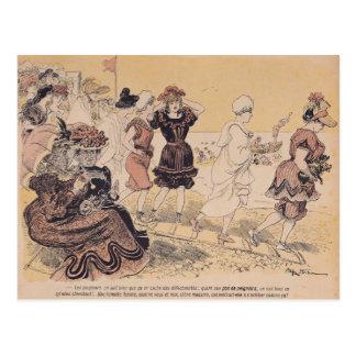 Bathers, from L'Assiette au Beurre Postcard