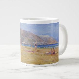 Bathers Gozo Large Coffee Mug