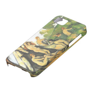 Bathers Outside a Tent by Cezanne iPhone 5/S Case